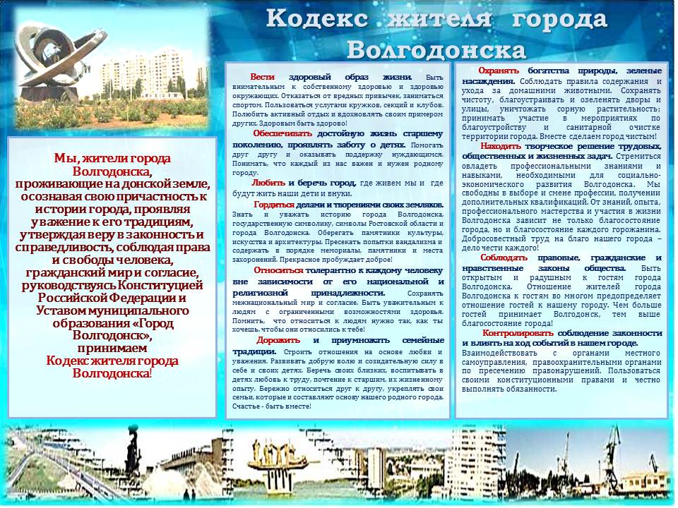 Кодекс жителя города