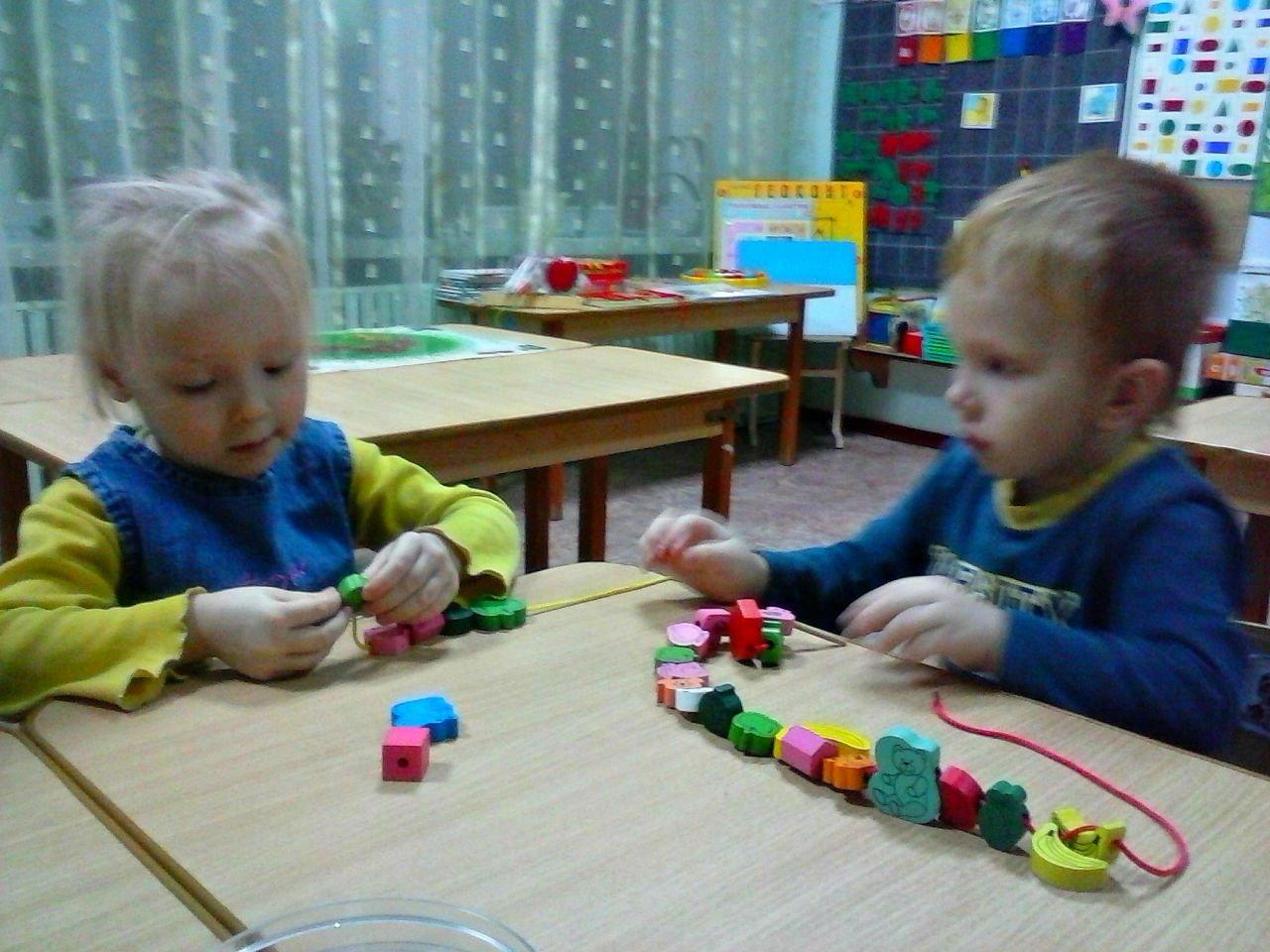Сенсорное развитие детей фото